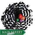Cuff Luv Black and White Stripe Magnetic Magic Pin
