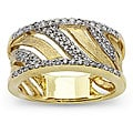 10k Two-tone Gold 1/3ct TDW Diamond Fashion Ring (H-I, I1)