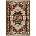 Soho Ivory Oriental Rug (5&#39;3 x 7&#39;3)