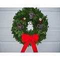 Fresh 24-inch Fresh Balsam Wreath