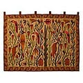 Wool &#39;Bird Forest&#39; Wall Tapestry (Peru)