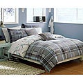 Quiksilver Payback Plaid 8-piece Twin XL-size Bed in a Bag with Sheet Set