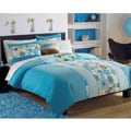 Roxy Beach Break 7-piece Full-size Bed in a Bag with Sheet Set