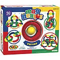 Guidecraft Magneatos 50-piece Plastic Jumbo Curves Activity Set