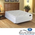 Spring Air Alpine Plush Value Back Supporter King-size Mattress Set