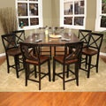Larue 9-piece Butterfly Leaf Counter-height Dining Set