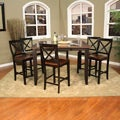 Larue 7-piece Butterfly Leaf Counter-height Dining Set