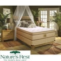 Nature's Rest by Spring Air Stratton Euro Top Zoned Latex Foam Full-size Mattress Set