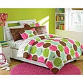Roxy Seeing Spots Full-size 10-piece Bed in a Bag with Sheet Set