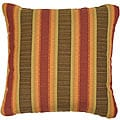 Autumn 18-inch Knife-edged Outdoor Pillows with Sunbrella Fabric (Set of 2)