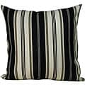 Jiti Pillows 'Down the Lane' Outdoor Black Decorative Pillow