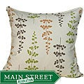 Jiti Pillows Leaves Outdoor Green Decorative Pillow