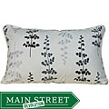Jiti Pillows Outdoor Black Leaves Decorative Pillow