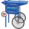 Paragon Blue Small Snow Cone Cart