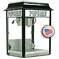 Paragon 1911 8-oz Black and Chrome Popcorn Machine