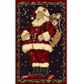 Santa Claus Holiday Area Rug (3' x 5')