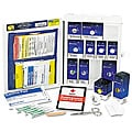Labeled Metal First Aid Kit 112-piece with SmartTab ezRefill System