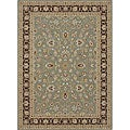 Primeval Sage/ Coffee Oriental Rug (9&#39;2 x 12&#39;7)