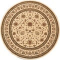 Primeval Ivory Oriental Rug (7&#39;7 Round)