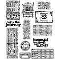 Tim Holtz 'Going Somewhere' Rubber Stamp Set