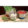 Cook Pro Inc 3-piece Silicon non-skid Base Mixing Bowl Set