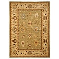 Handcrafted Karabagh Bay Leaf Wool Rug (5' 3 x 7' 6)