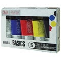 Liquitex Basics Permanent Water-resistant Acrylic Paints (Set of 5)