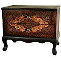 Olde-World Euro Two-drawer Cabinet (China)