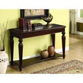 Morgan Beveled Glass Sofa/ Entryway Table