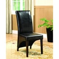 Midtown Leatherette Dining Chairs (Set of 2)