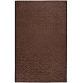 Candice Olson Loomed Chocolate Floral Plush Wool Rug (9' x 13')