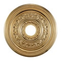 Gold Finish 18-inch Decorative Medallion