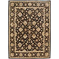 Hand-tufted Kayden Brown Wool Rug (2' x 3')