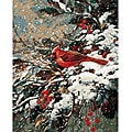 Paint By Number 'Early Snow' Kit