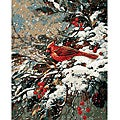 Paint By Number &#39;Early Snow&#39; Kit