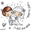 Crafter's Companion S.W.A.L.K. 'I Do' Rubber Stamp