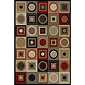 Multi Abstract Rug (5' x 7')