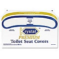 Krystal Premium Half-fold Toilet Seat Covers (Case of 1,000)