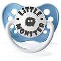 Personalized Pacifiers Blue Little Monster Pacifier
