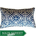 Jiti Pillows Outdoor Malibu Blue Decorative Pillow
