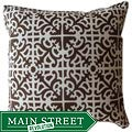 Jiti Pillows Outdoor Brown Malibu Decorative Pillow
