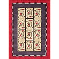 Alliyah Handmade New Zeeland Blend Red Wool Area Rug (5' x 8')