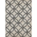 Hand-tufted Metro Grey Wool Rug (5' x 8')