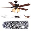 New Image Concepts 4-light &#39;Parisian Elegance&#39; Blade Ceiling Fan