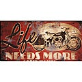 Rodney White 'Life Needs More Green Lights' Canvas Art