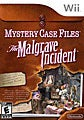 Wii - Mystery Case Files: The Malgrave Incident - By Nintendo