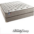 Simmons BeautySleep Fox Hollow Euro Top Twin-size Mattress Set
