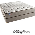 Simmons BeautySleep Fox Hollow Euro Top Queen-size Mattress Set