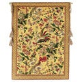 Exotic Birds European Tapestry Wall Hanging