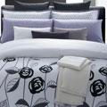Lavender Rose Cotton 7-piece Duvet Set